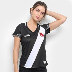 096f92a833b4a Camisa Vasco II 2018 s n° Torcedor Diadora Feminina - Branco ...