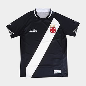 8e2f64e6b0 Camisa Vasco Infantil II 19 20 s n° - Torcedor Diadora - Branco ...
