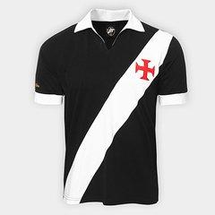 c4053d082 Camisa Retrô Vasco Expresso Da Vitória Masculina