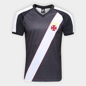 Camisa Vasco Clássica Edição Limitada Masculina - Preto e Branco ... 6ae639e6b0d10