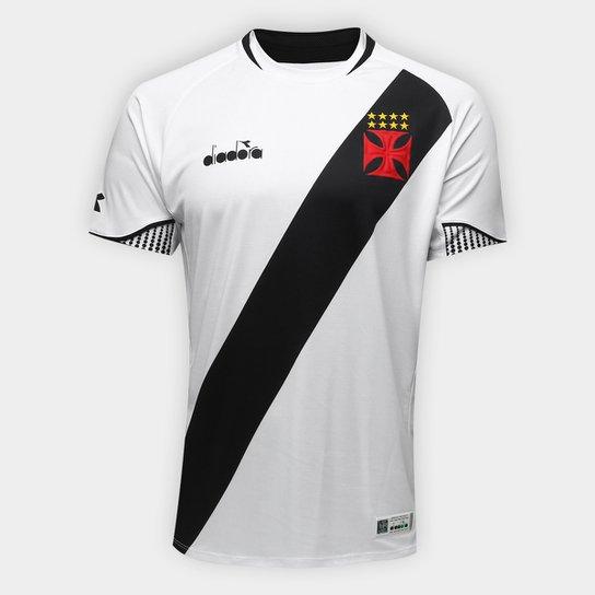 c22edb38b6 Camisa Vasco II 2018 s n° Jogador Diadora Masculina - Branco