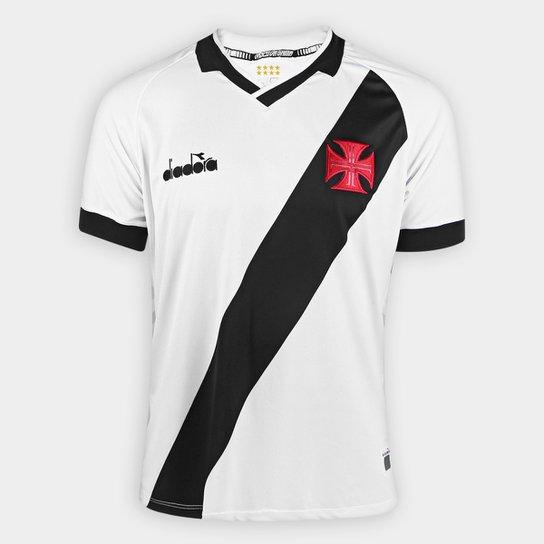 c4ddebdc2eb90 Camisa Vasco II 19 20 s n° - Torcedor Diadora Masculina - Branco ...
