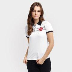 b3669a4200 Camisa Polo Vasco Cruz de Malta Feminina
