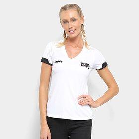 bcdb301c94 Camisa Vasco II 19 20 s n° - Torcedor Diadora Feminina - Branco ...