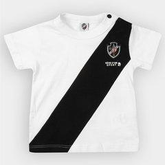 a6a1269262374 Camiseta Vasco Infantil Bicolor Bebê
