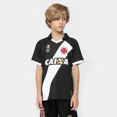 01ff791806 Camisa Umbro Vasco I 15 16 nº 10 Juvenil