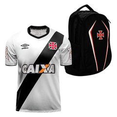ec448f8324 Kit Vasco da Gama - Camisa Umbro II 14 15 + Mochila