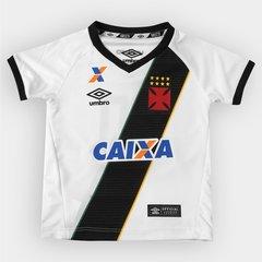 Camisa Umbro Vasco II 16 17 nº 10 Infantil 0404b033c7fa7