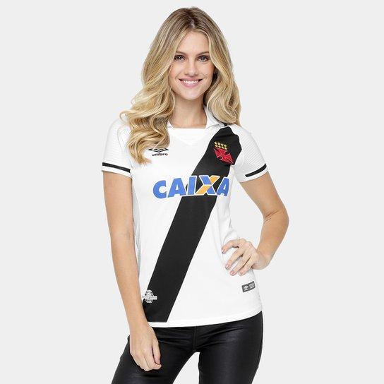 34c67b0b83961 Camisa Vasco II 17 18 s nº Torcedor Umbro Feminina - Compre Agora ...