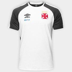 Camisa de Treino Vasco Concentração 17 18 Umbro Masculina d6a1eebf1e201