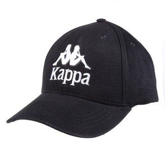 Boné Kappa Aba Curva Strapback Authentic Logo
