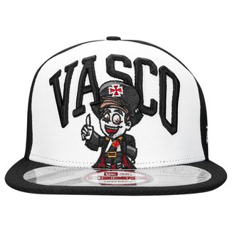 Boné New Era Vasco Aba Reta Mascote 9FIFTY Masculino