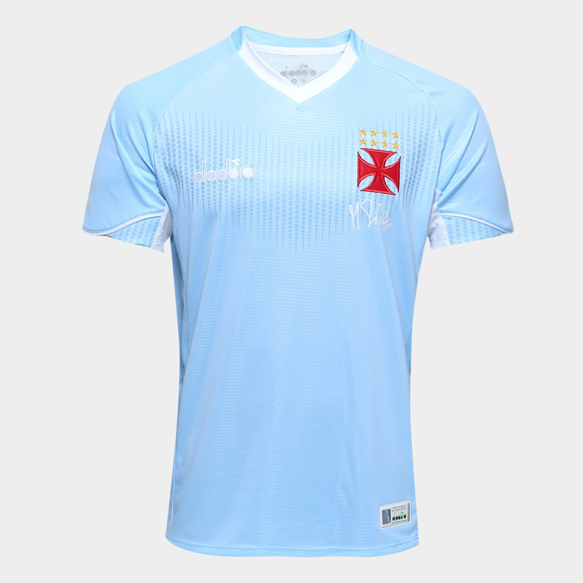 Camisa de Goleiro Vasco I 2018 s n° Torcedor Diadora Masculina ... c8c69315ee91d