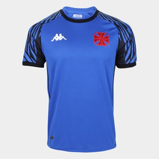 Camisa de Goleiro Vasco I 21/22 s/n° Torcedor Kappa Masculina