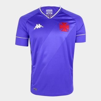 Camisa de Goleiro Vasco II 20/21 s/n° Torcedor Kappa Masculina