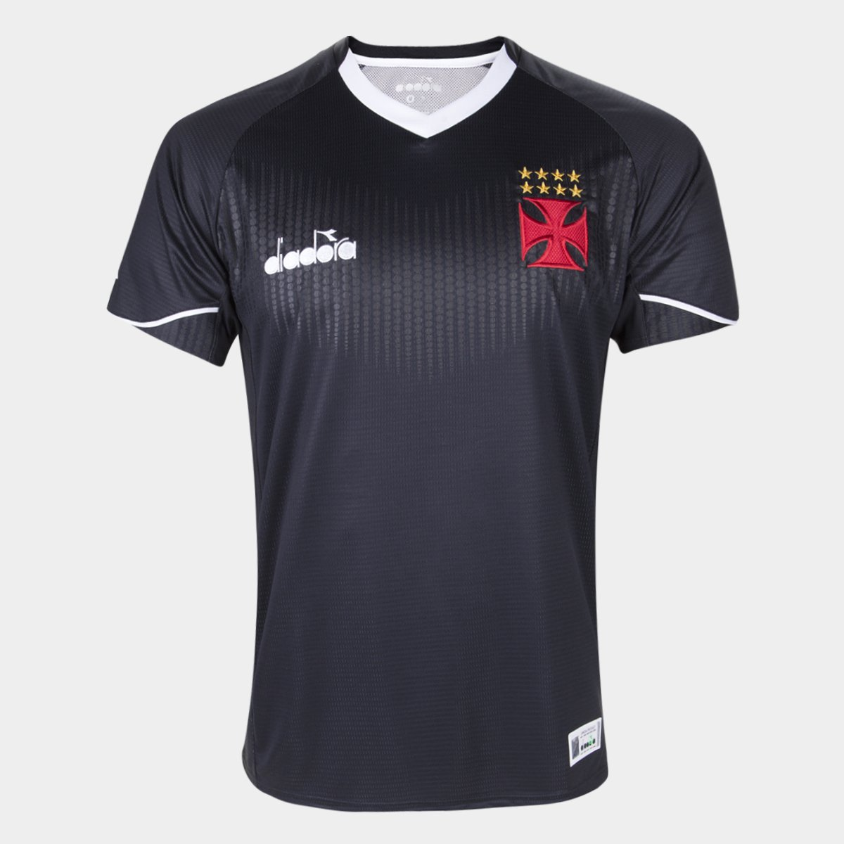 Camisa de Goleiro Vasco III 2018 s n° Torcedor Diadora Masculina ... 65a041d9d1a59
