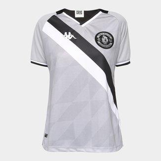 Camisa de Goleiro Vasco III 21/22 s/n° Torcedor Kappa Feminina