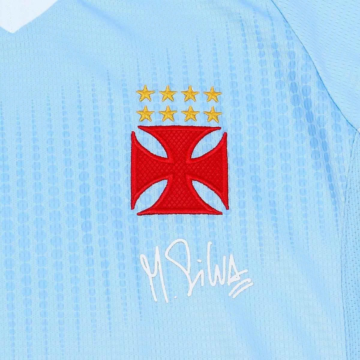 9853f0e4c0 Camisa de Goleiro Vasco Infantil I 2018 s n° Torcedor Diadora - Azul ...