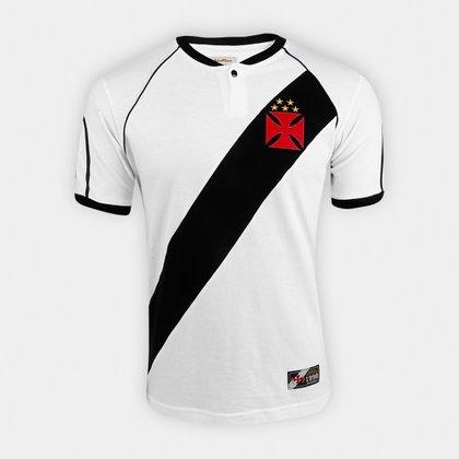 Camisa do Vasco Retrô Mania 1998 Libertadores Masculina