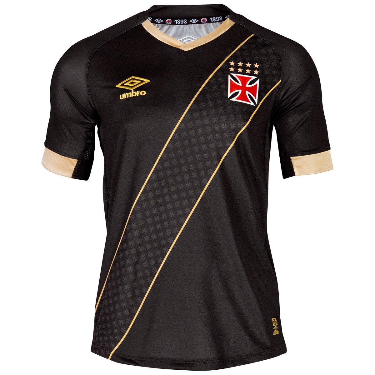 Camisa Feminina Umbro Vasco III 2015 s nº - Compre Agora  e65e3305167d8
