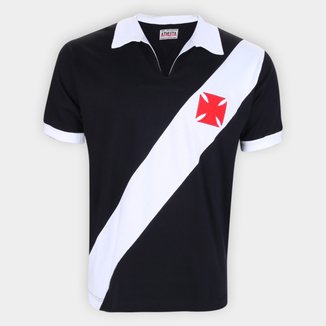 Camisa Polo Retrô Vasco 1960 Athleta Masculina