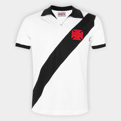 Camisa Polo Retrô Vasco 1960 Athleta Masculina