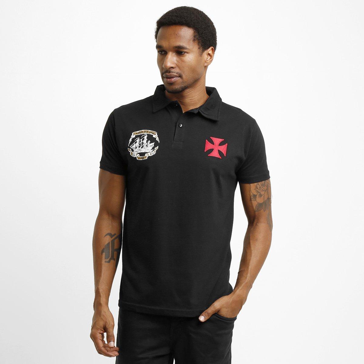 0213f079e03d3 Camisa Polo Vasco Cruz de Malta - Compre Agora