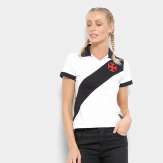Camisa Polo Vasco Paris Feminino