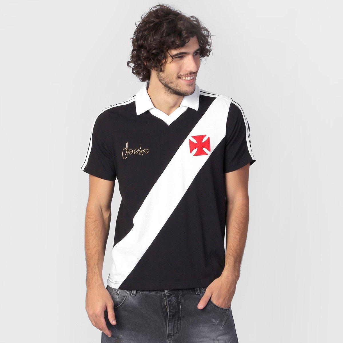 Camisa Polo Vasco Sorato - Retrô - Compre Agora  cf0941e2e2207
