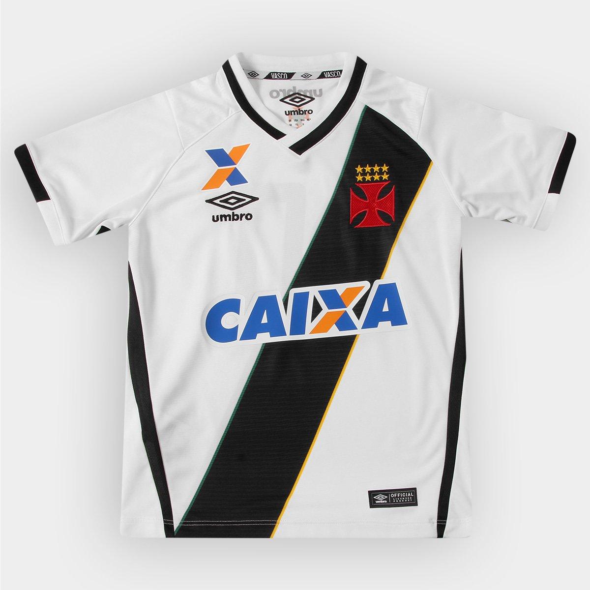 Camisa Umbro Vasco II 16 17 nº 10 Juvenil - Compre Agora  bc5324f6430ae