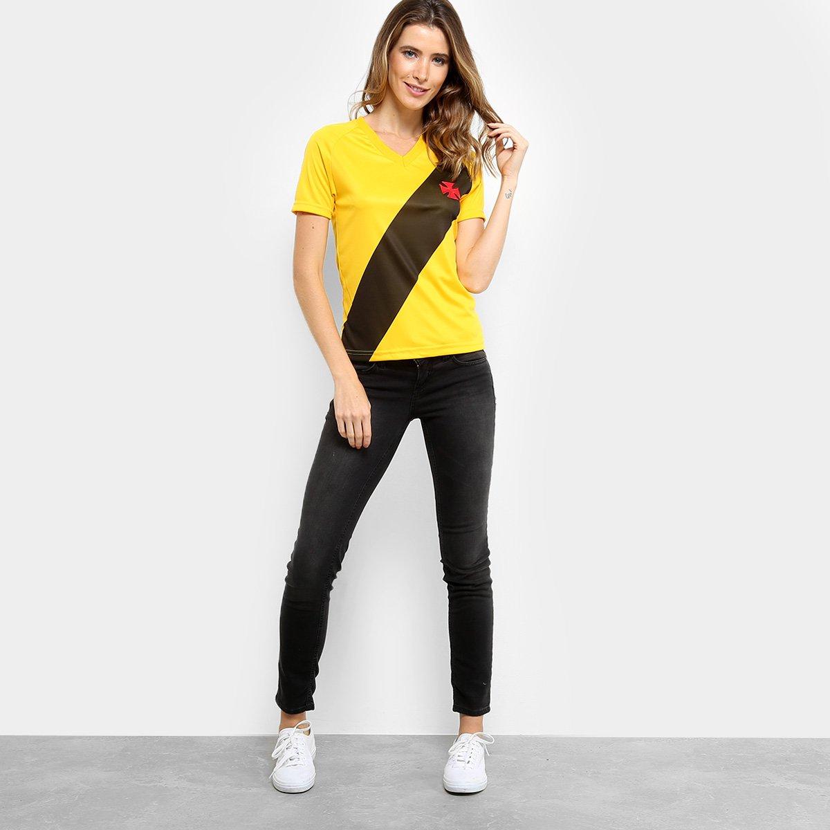 a70139152f Camisa Vasco 2012 s n° Edição Limitada Feminina - Amarelo - Compre ...