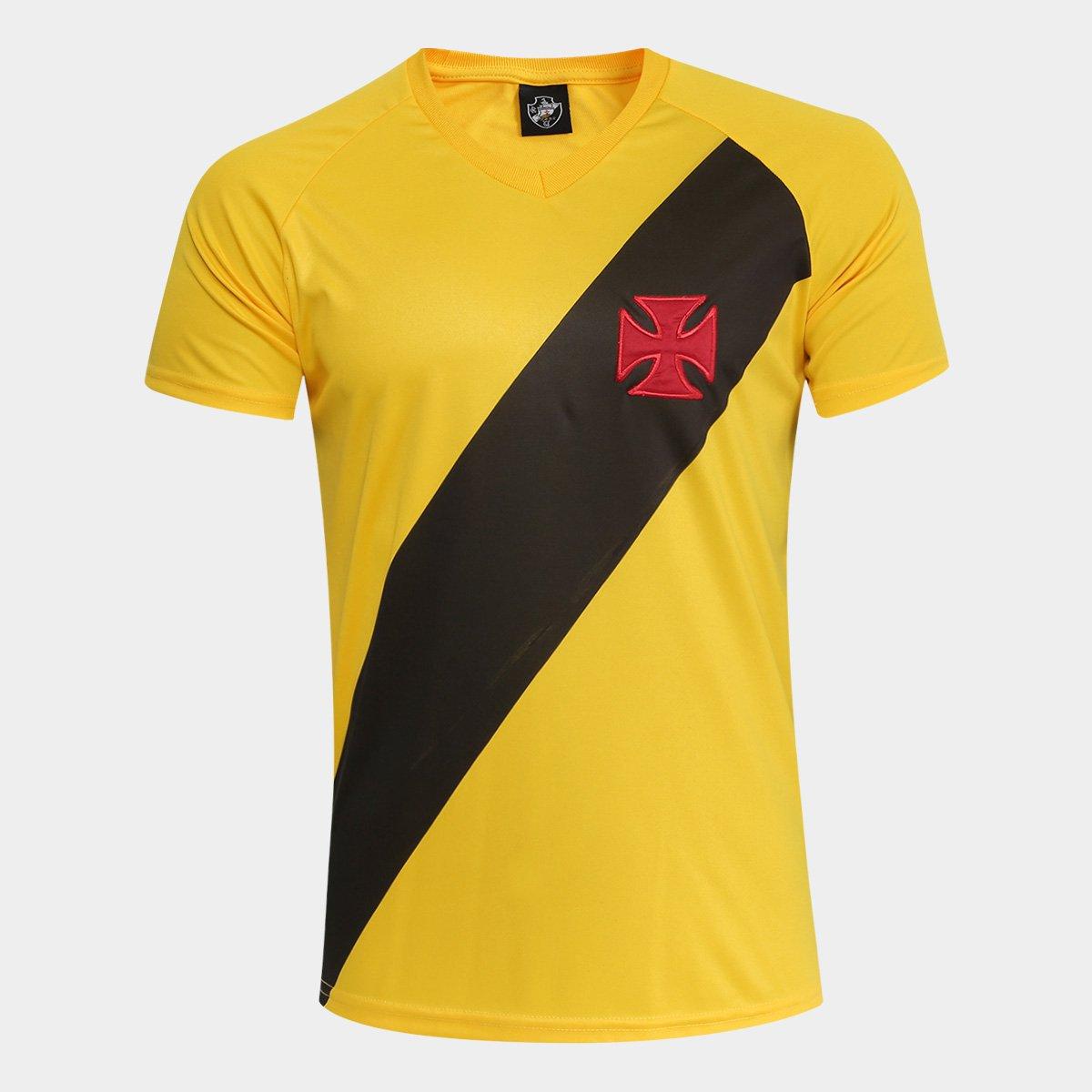 Camisa Vasco 2012 s n° Edição Limitada Masculina - Amarelo - Compre ... e0825fb643d27
