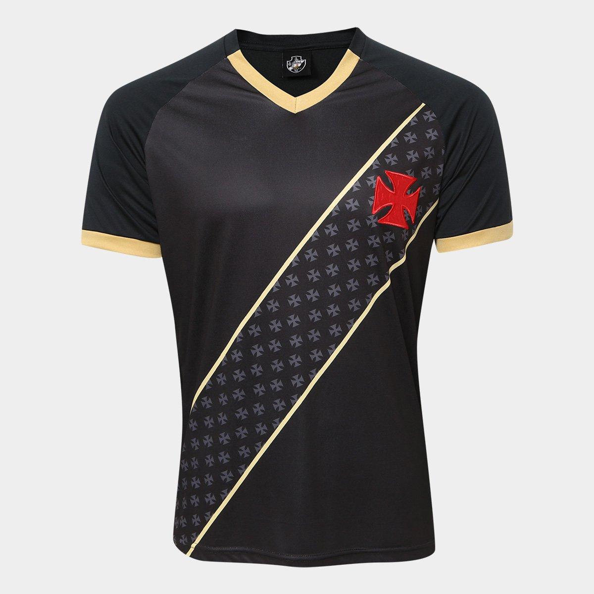 Camisa Vasco 2015 s n° Masculina - Preto e Dourado - Compre Agora ... 4fc09f2b87a50