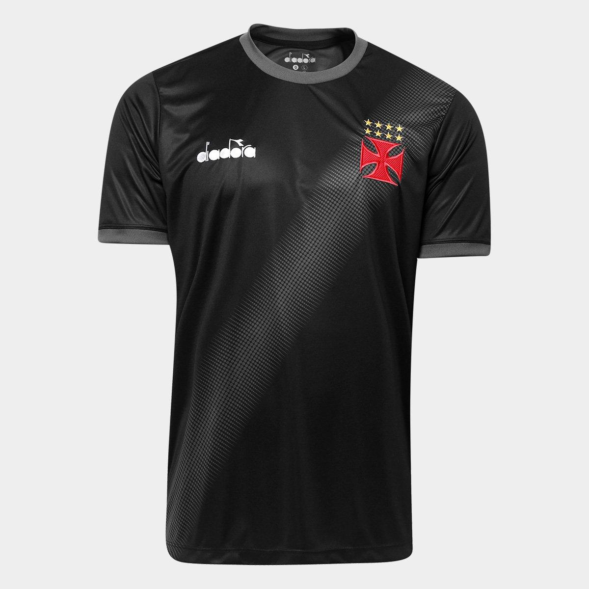 d3728e8cbdc Camisa Vasco Aquecimento 2018 Diadora Masculina - Compre Agora ...