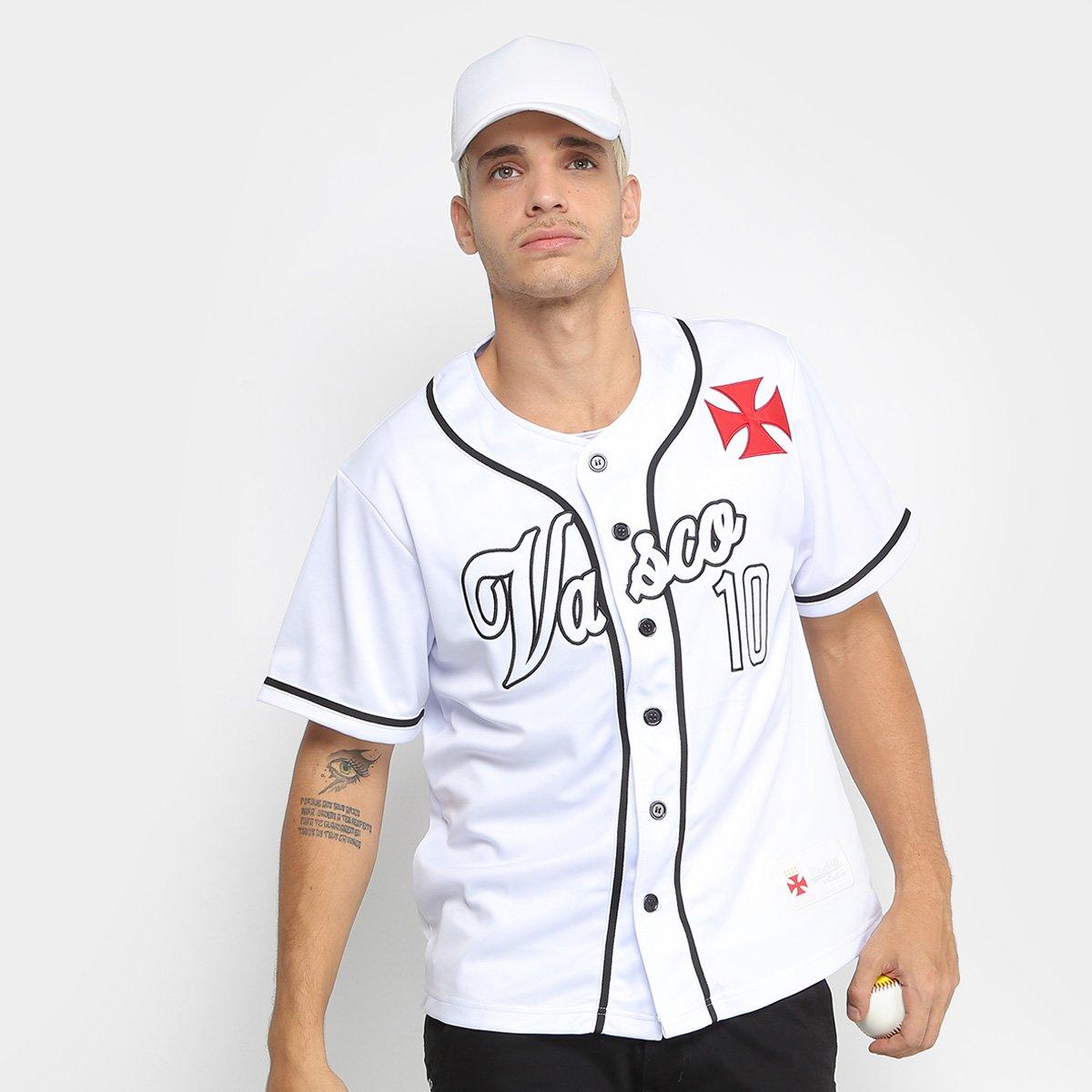 Camisa Vasco Baseball Masculina - Compre Agora  9f85a2886b9c0