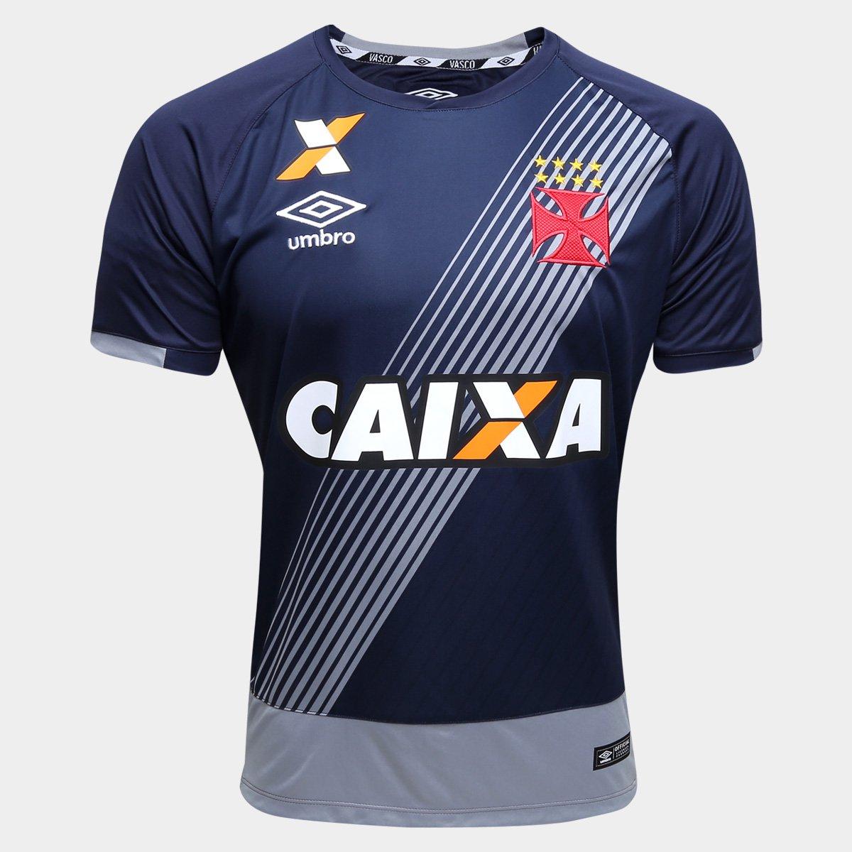 9cc8bac3b8fc4 Camisa Vasco Goleiro 16 17 s nº - Torcedor Umbro Masculina - Compre Agora