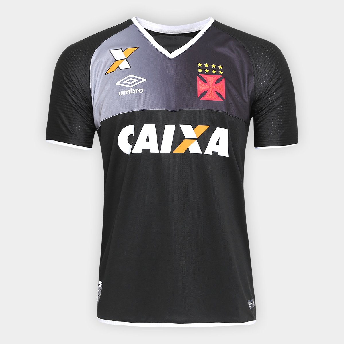 Camisa Vasco Goleiro 17 18 s nº Torcedor Umbro Masculina 3857f72454ddd