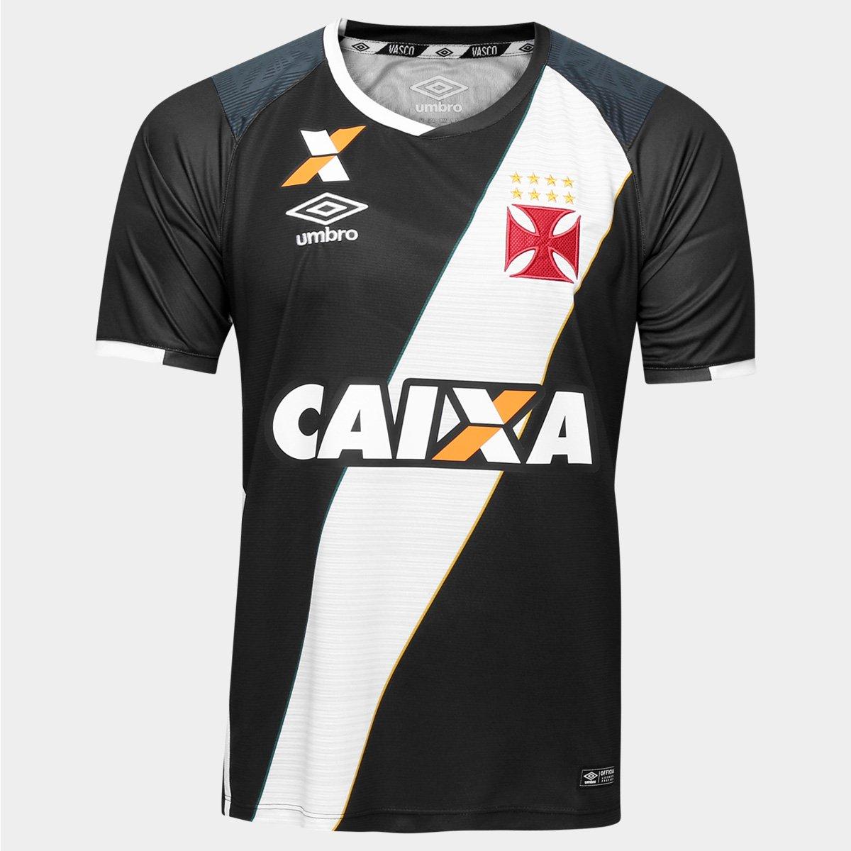 b951caf5ecd9d Camisa Vasco I 16 17 s nº Torcedor Umbro Masculina - Compre Agora ...