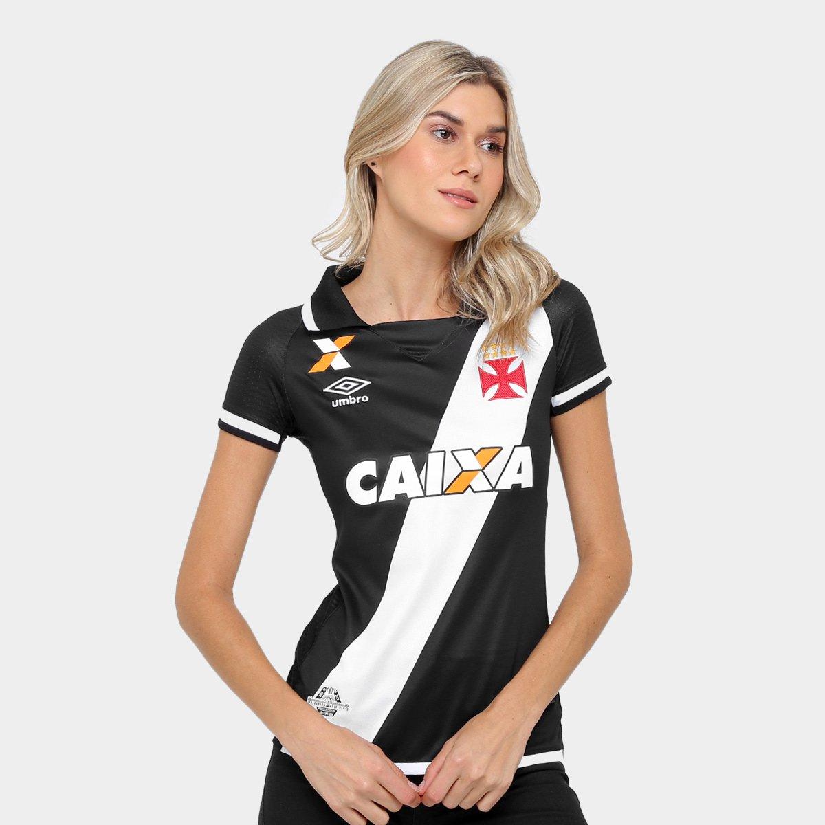 0b705fb738327 Camisa Vasco I 17 18 s nº Torcedor Umbro Feminina - Compre Agora ...
