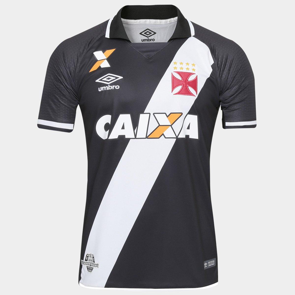 0b99dab7c0b06 Camisa Vasco I 17 18 s nº Torcedor Umbro Masculina - Compre Agora ...
