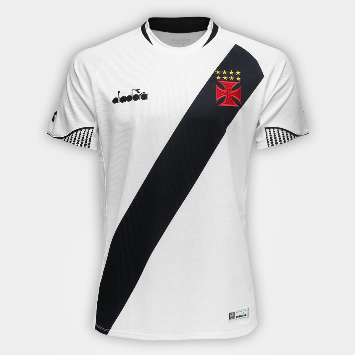 438115a469 ... Camisa Vasco II 2018 Nº 11 - Maxi - Torcedor Diadora Masculina ...