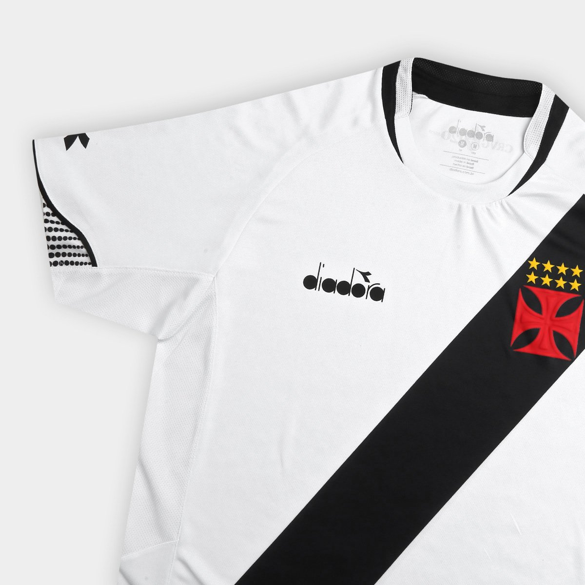Camisa Vasco II 2018 s n° Jogador Diadora Masculina - Branco ... c8043c39f07f9
