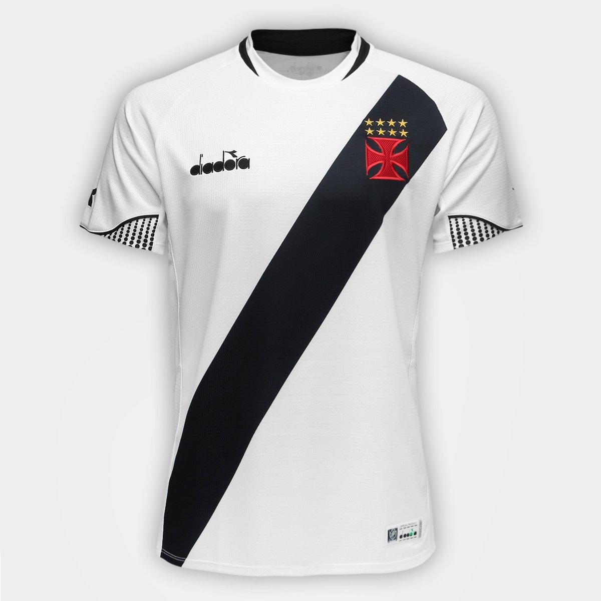 Camisa Vasco II 2018 s n° - Torcedor Diadora Masculina - Branco ... 16ffc4c676570
