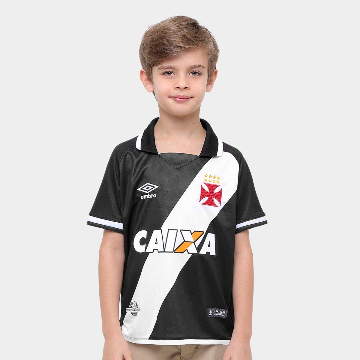 a12a190aa1645 Camisa Vasco Infantil I 17 18 nº 10 - Torcedor Umbro - Compre Agora ...