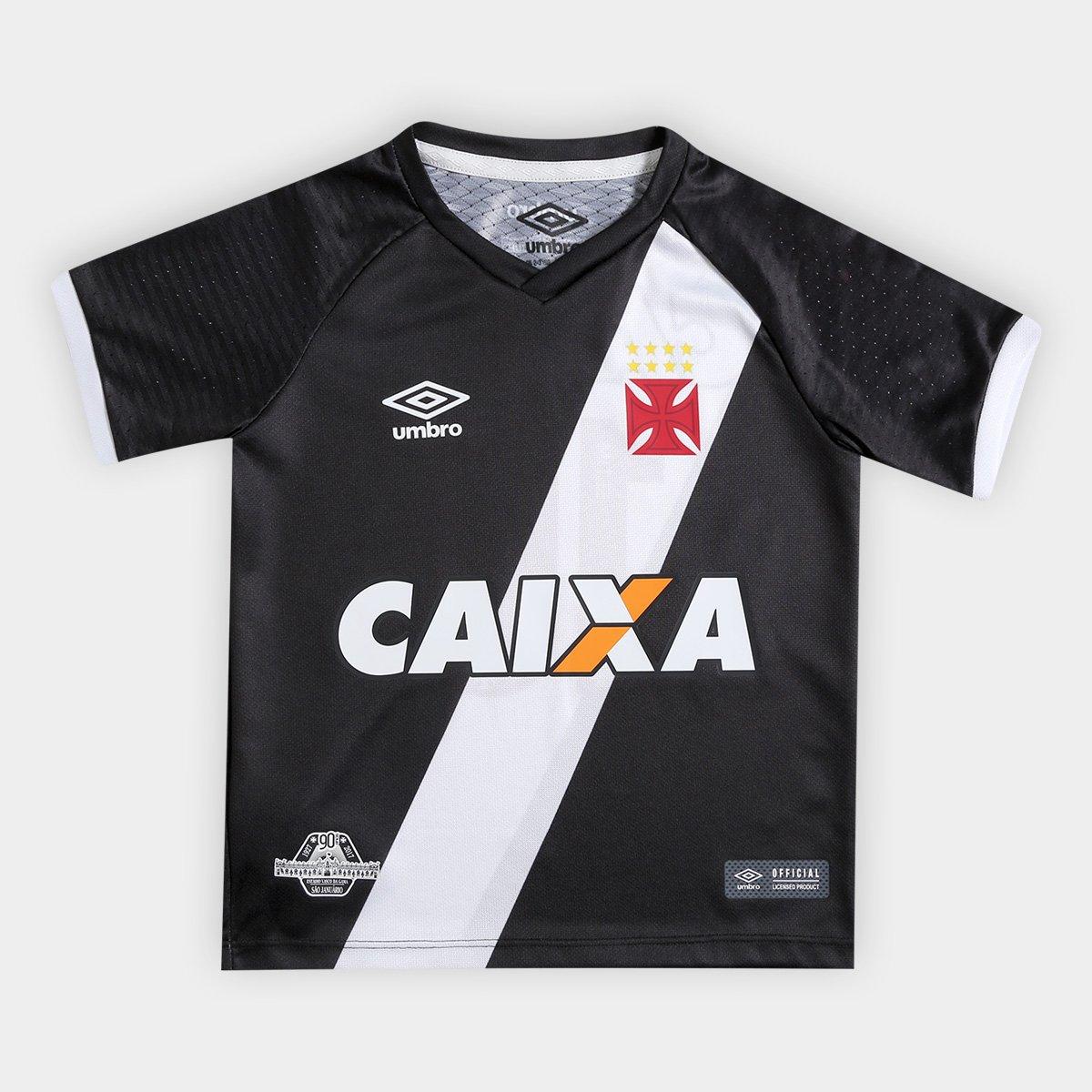 Camisa Vasco Infantil I 17 18 nº10 Torcedor Umbro - Compre Agora ... 921909a104a1b