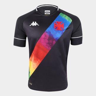 Camisa Vasco LGBT 21/22 s/nº Torcedor Kappa Masculina