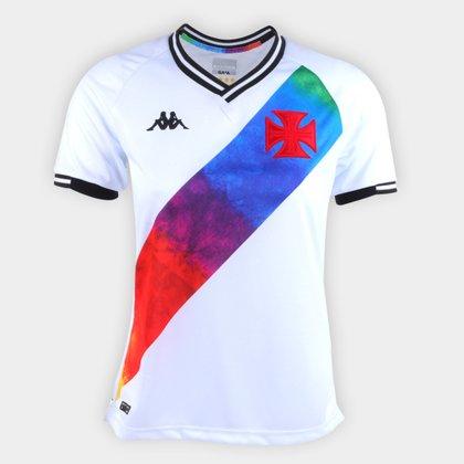 Camisa Vasco LGBT Torcedor Kappa Feminina
