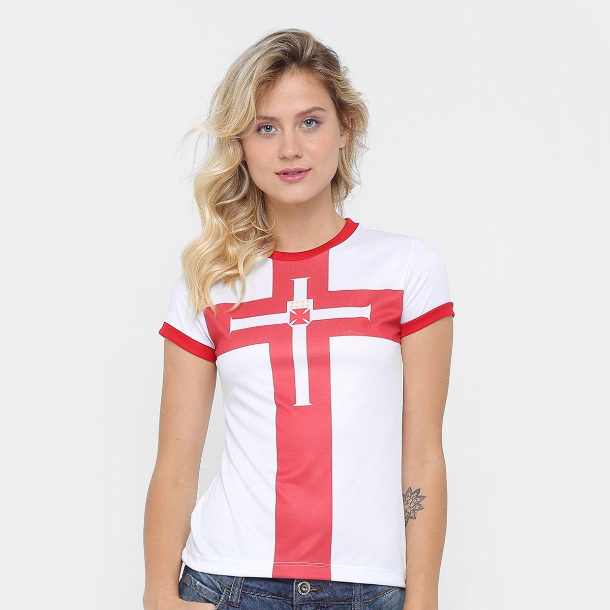 Camisa Vasco Templária - Ed. Limitada Feminina - Compre Agora  0dd8aee53d7bf