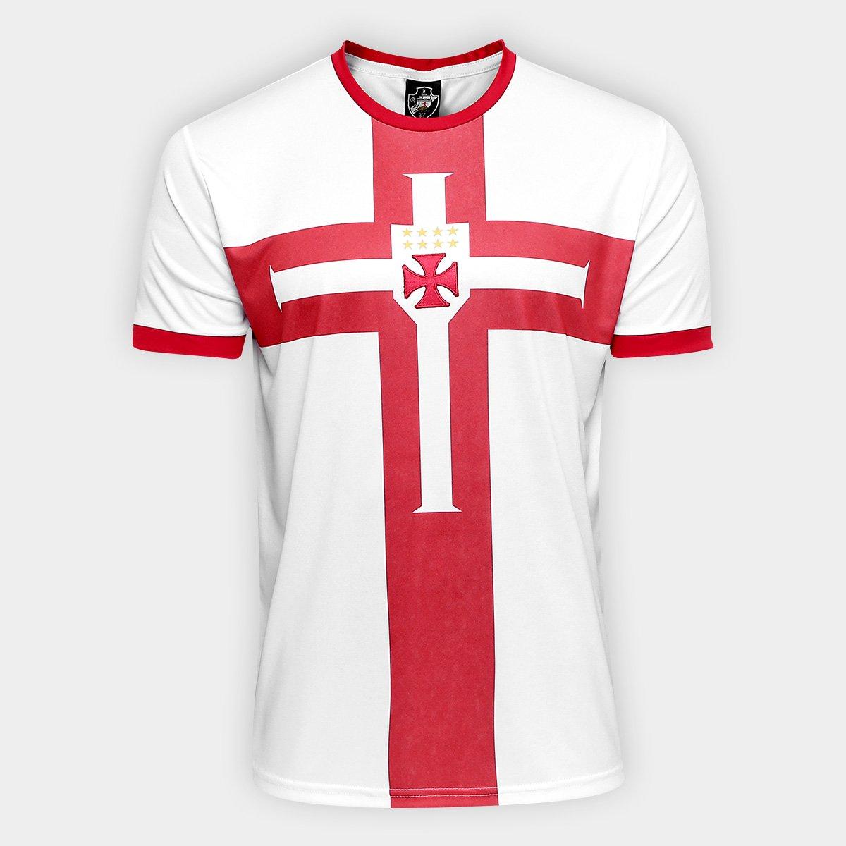 81188ae2bd Camisa Vasco Templária Ed. Limitada Masculina - Preto e Branco ...