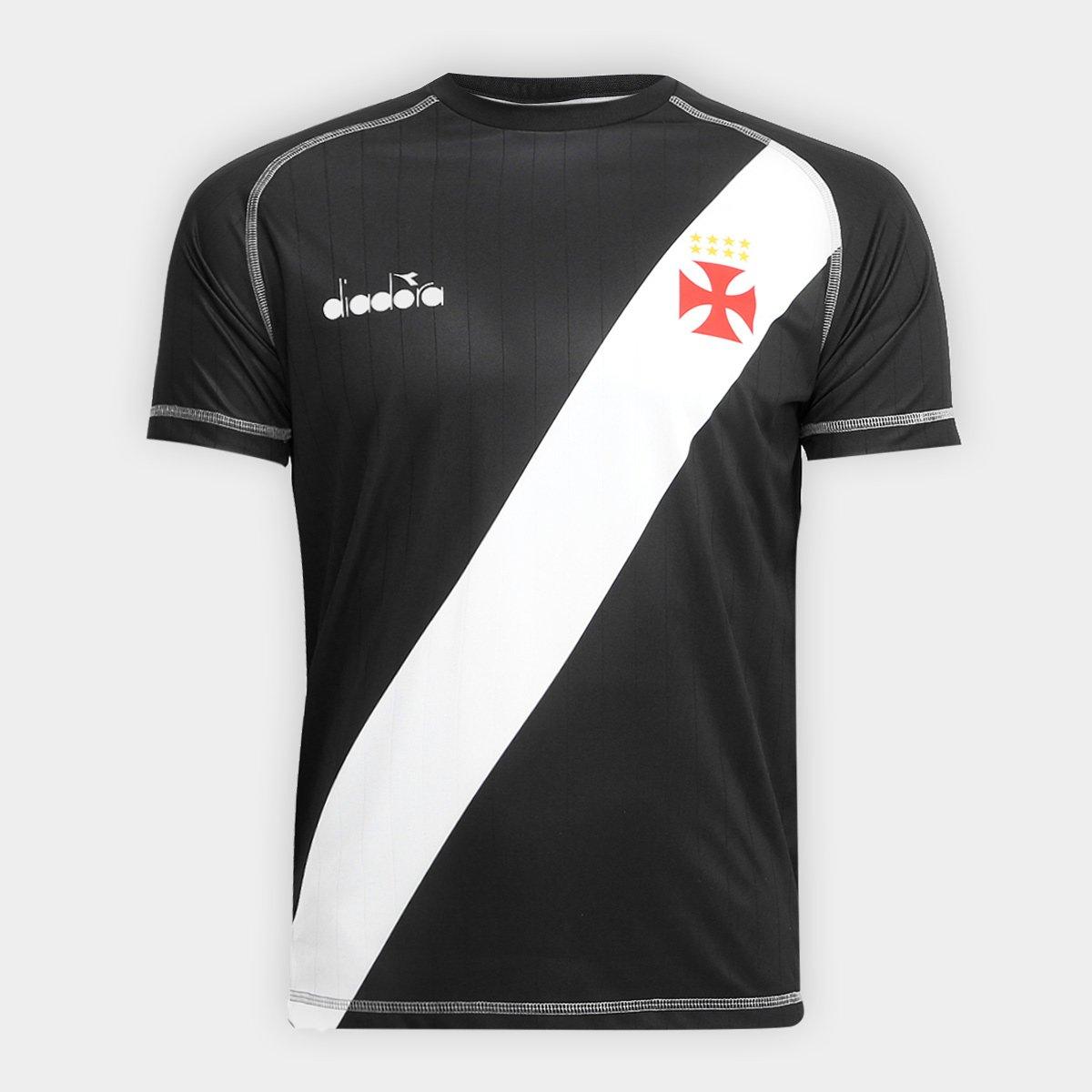 Camisa Vasco Transição I 2018 s nº Torcedor Diadora Masculina ... bb41af1be36c0
